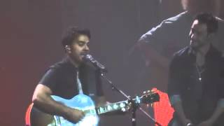 Luis Fonsi con Luciano Pereyra Llegaste tu Luna Park Buenos Aires Argentina 10-10-2014