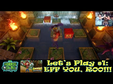 """""""Crash Bandicoot 'N Sane Trilogy"""" Let's Play #1: EFF YOU, ROO!!! - The Horror Show"""