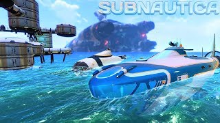 Subnautica - MASSIVE ATLAS SUBMARINE UPDATE, GETTING THE NEPTUNE ROCKET BLUEPRINTS! - Gameplay
