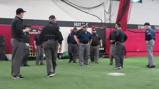 TSEUA/Perfect Game Umpire Tryout and Evaluation- Mic'd up!