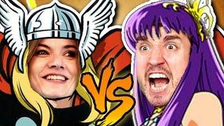 THOR vs. ATENA! - Smite