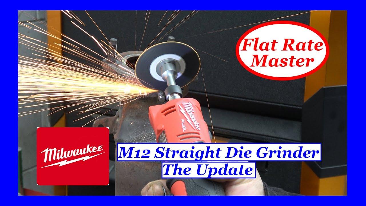 Long Term Update On Milwaukee M12 Straight Die Grinder