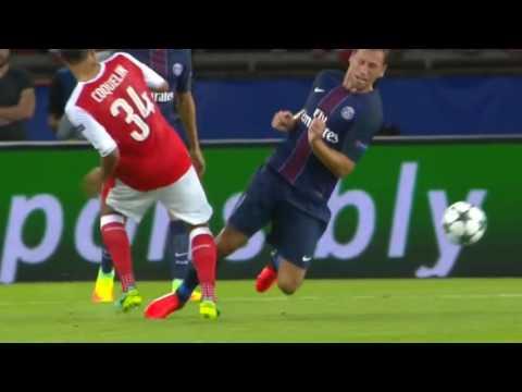 Grzegorz Krychowiak vs Arsenal Home HD 720p (13-09-2016)