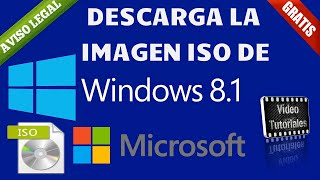 Como Descargar Windows 8.1 De Manera Gratuita Y Legal | USB / DVD Booteable.