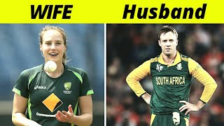 Top 10 Cricketers and their Beautiful Wives Profession | Husband and Wife | Small family