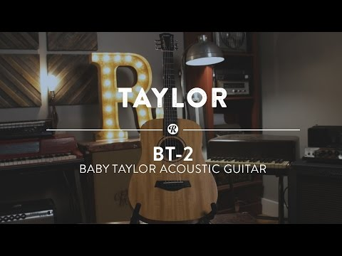 Taylor BT-2 Baby Taylor Acoustic Guitar | Reverb Demo Video