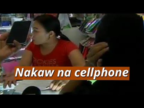 UB: Menor de edad na nagbebenta umano ng hinihinalang nakaw na cellphone, hinuli