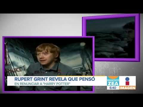 Rupert Grint pensó en renunciar a las películas de Harry Potter | Noticias con Zea