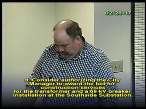 February 28, 2017 Public Utilities Commission Meeting
