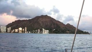Hawaiian Catamaran Sunset Cruise and Waikiki Beach