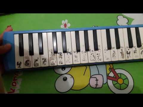 Pianika lagu Anging Mamiri