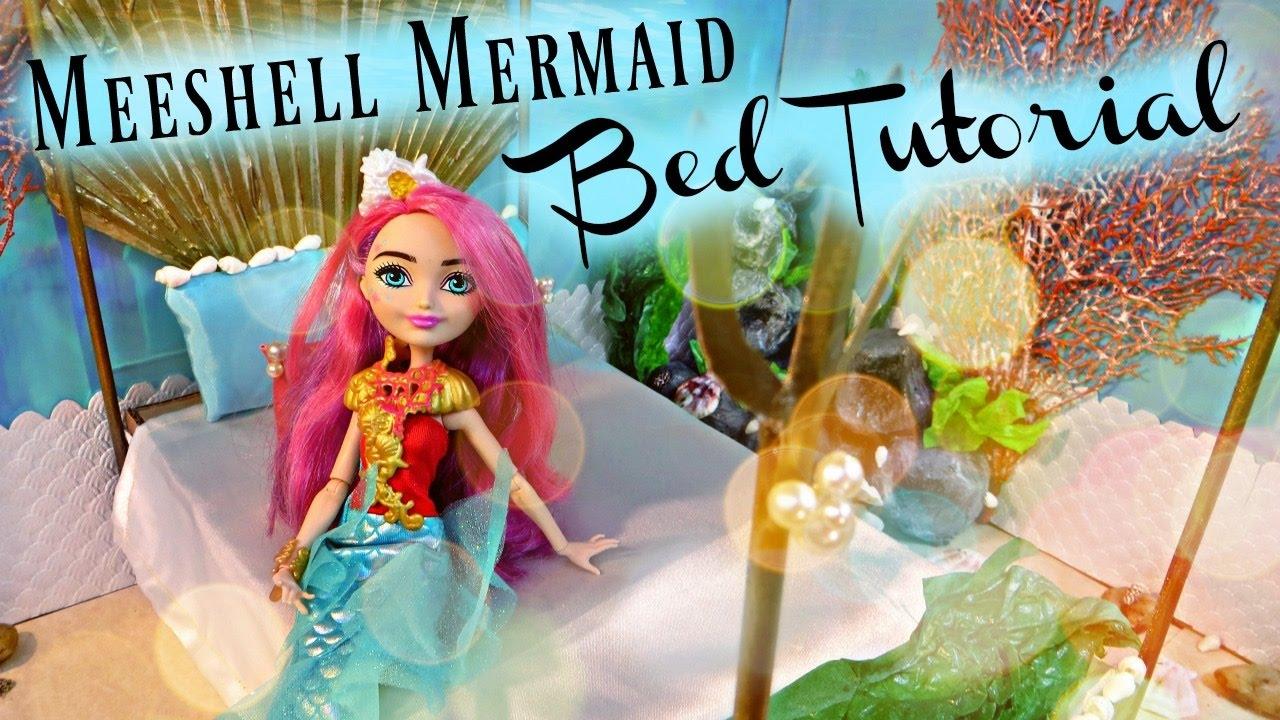 Meeshell Mermaid Bed Tutorial