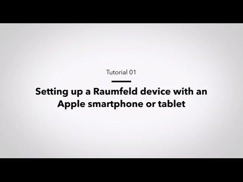 Raumfeld Tutorial: Setup via iOS app for Apple devices