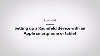 Raumfeld Tutorial: Setup via iOS app for Apple devices