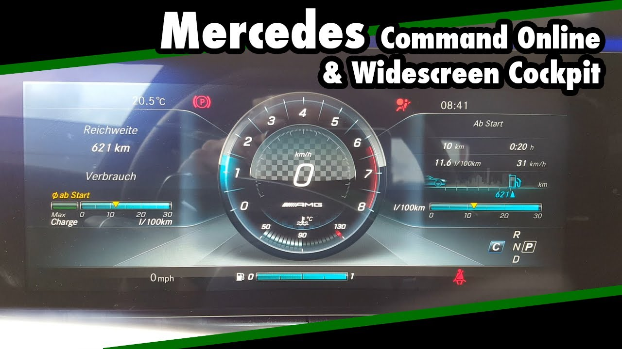 Infotainment Review 2016 Mercedes E-Klasse Command Online & Widescreen  Cockpit W213 // JJsGarage