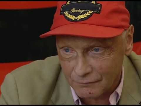 Niki Lauda on Murray Walkers F1 Greats - YouTube