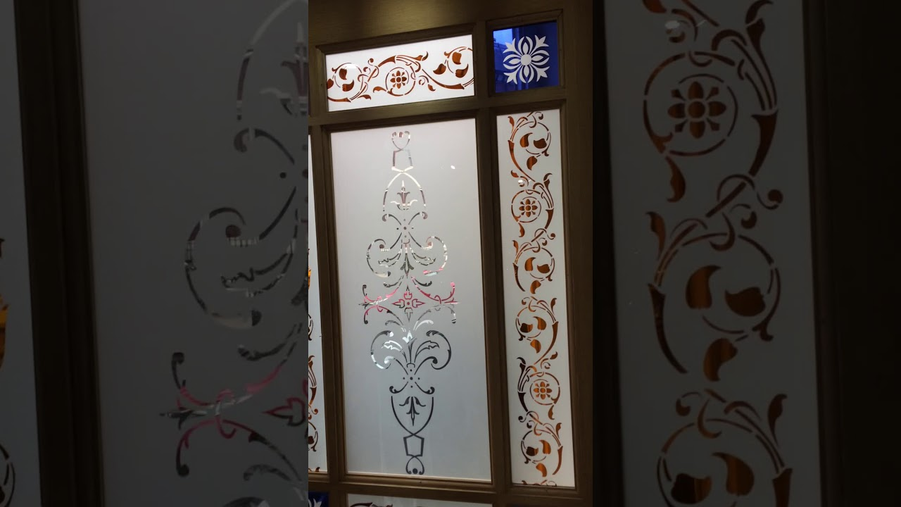 Etched Glass Doors At Knowsley Art Glass Youtube