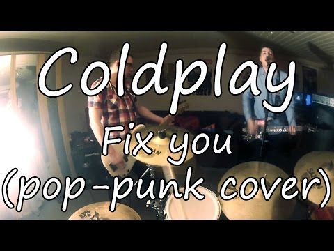 Coldplay - Fix You (pop-punk cover by One Mile Left)(POV)