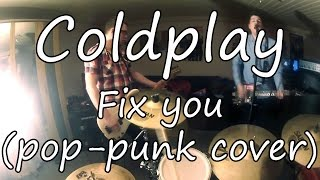 Coldplay - Fix You (pop-punk cover by One Mile Left)(POV)(Official Video)