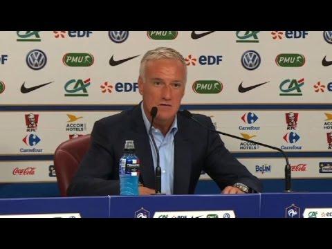 """Benzema absent, """"des choix pour le bien de l'équipe de France"""""""