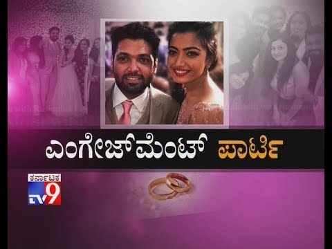 `Engagement Party`: Inside Rashmika Mandanna And Rakshit Shetty's Engagement