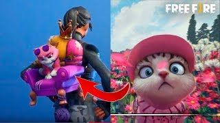 I Bought *To The Free Fire Cat* in Fortnite