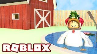 ROBLOX! BIGGEST CHICKEN EVER!! | CHICKEN SIMULATOR! | Amy Lee33