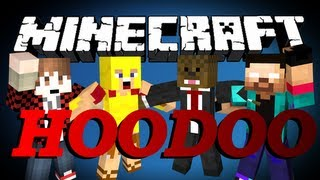 DEFENDERS Minecraft HOODOO PVP Minigame w/ BajanCanadian, Palmerater and NoahCraftFTW | JeromeASF