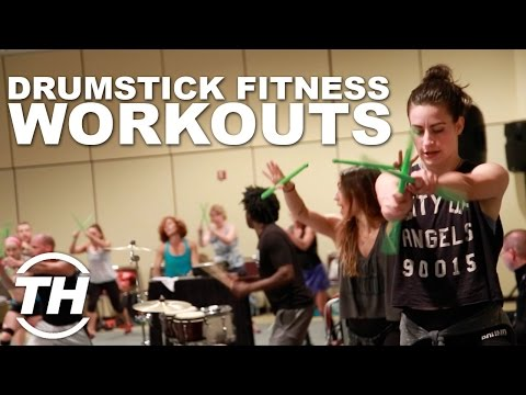 POUND: Rockout  Workout  | Drumstick Fitness Workouts - YouTube