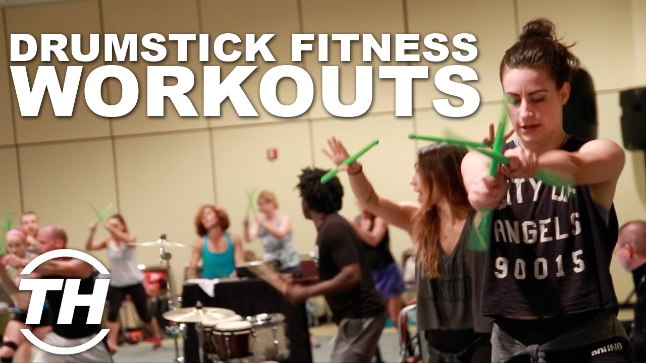 Pound Rockout Workout Drumstick Fitness Workouts Youtube