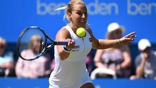 2016 Aegon International Quarterfinals | Dominika Cibulkova vs Agnieszka Radwanska | WTA Highlights
