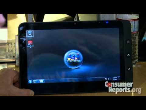 ViewSonic ViewPad tablets: CES 2011 | Consumer Reports