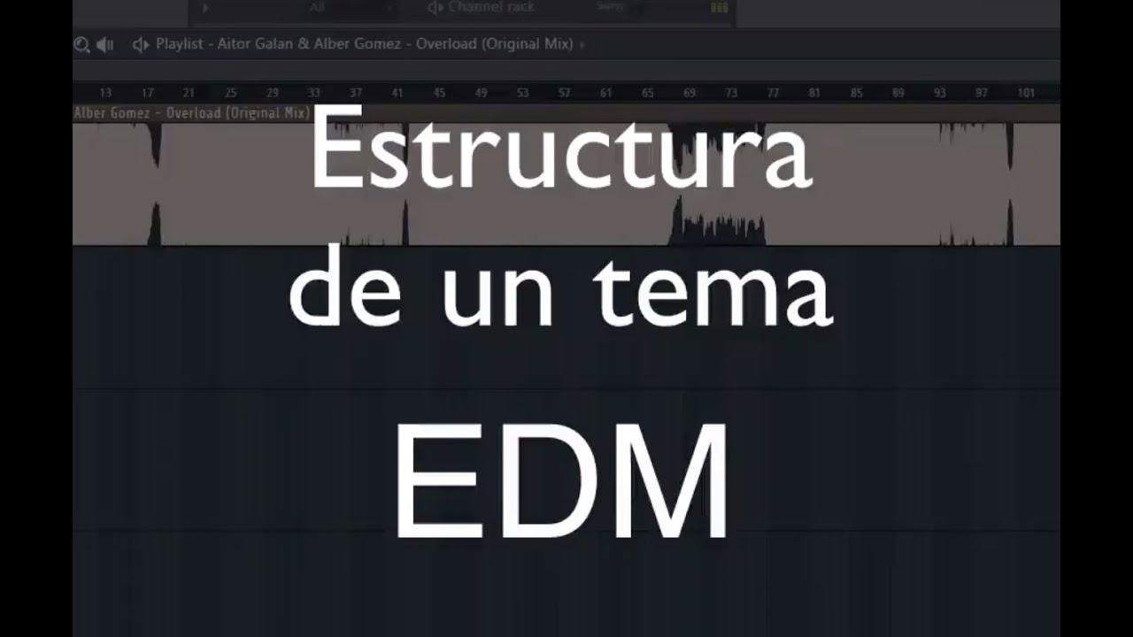 Cómo Hacer Edm La Estructura De Un Tema Edm Break Drop Subida Melodía