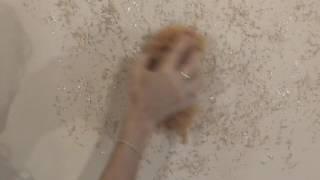 Pintar acabado faux con esponja