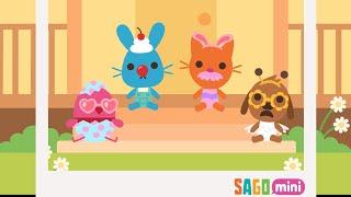 Sago Mini babies dress up kids gameplay, #kidsgame, #kindergarten, #sagomini, #babiesdressup, #baby