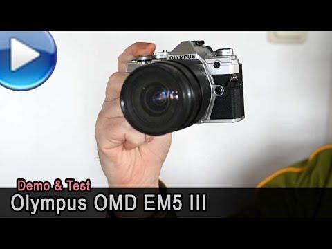 Olympus OMD EM5 Mark 3 - Demo & Test