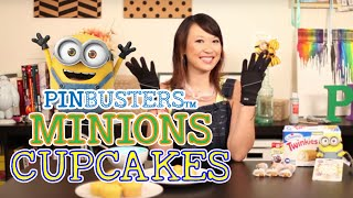 """Minions"" Cupcakes - Pinbusters Episode 17"