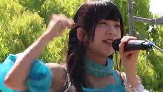 丸亀城まつりのステージ本番前に行われた「きみともキャンディ」 プレラ...