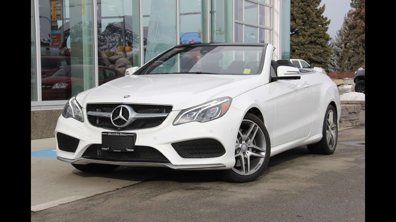 2017 Mercedes Benz E400 Cabriolet For Sale @ Mercedes Benz ...