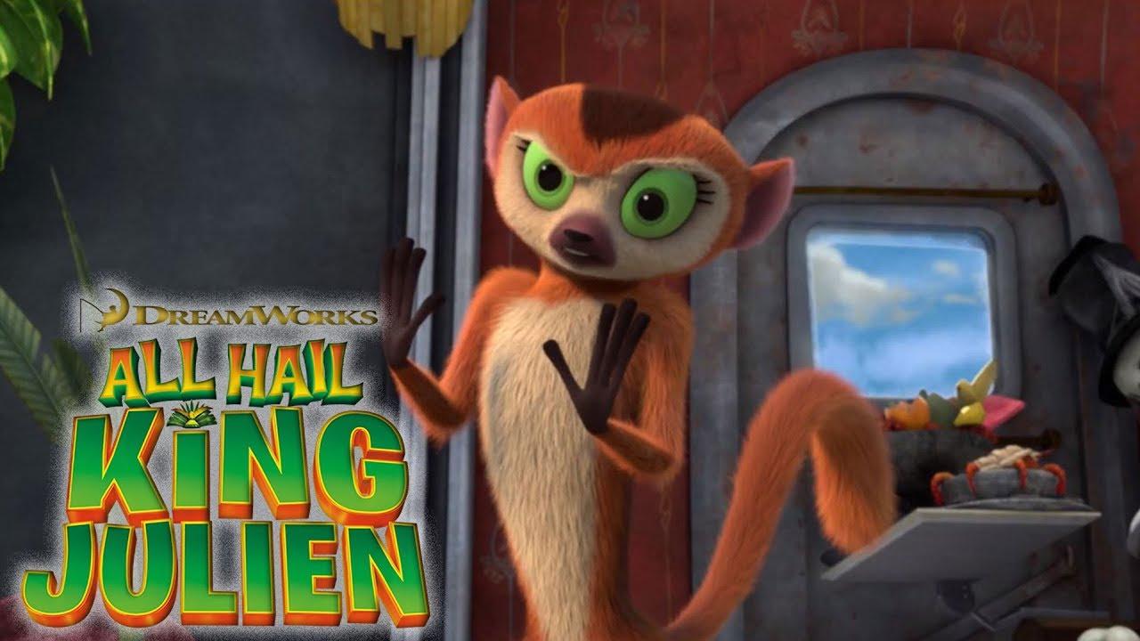 Download All Hail King Julien: Clover Gets Crazy Mashup | All Hail King Julien | Universal Kids