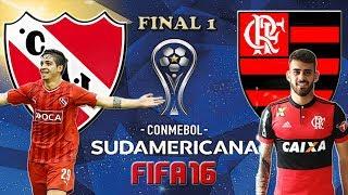 Independiente VS. Flamengo (06/12/2017) Copa Conmebol Sul-Americana [FINAL 1] FIFA 16