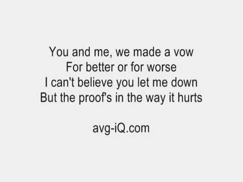 Amerie - Not the Only One Lyrics | Musixmatch