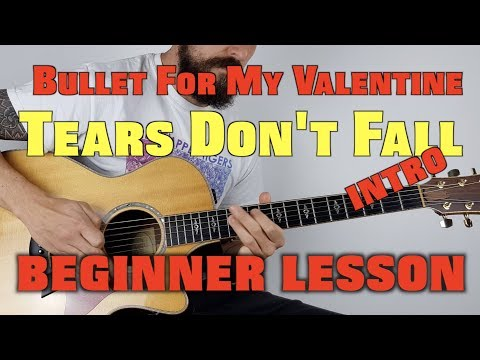 How to Play Bullet For My Valentine Tears Don't Fall EASY VERSION