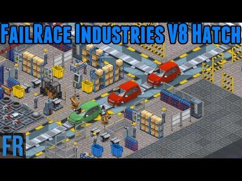 FailRace Industries V8 Hatch - Production Line