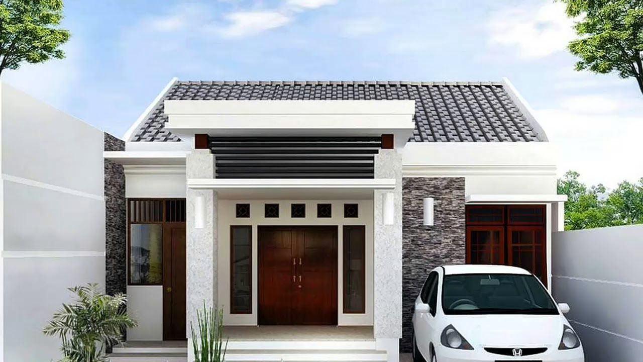Model Rumah Minimalis Ukuran 7x12 Wallpaper Dinding