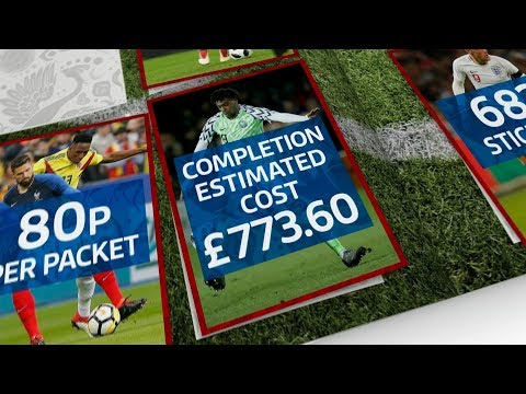 Whopping £773 to fill this year's Panini World Cup sticker book | ITV News