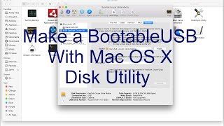 Making Bootable USB of Mac OS X with Disk Utility
