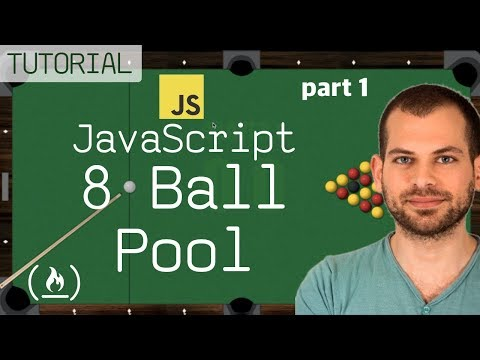 JavaScript + HTML5 GameDev Tutorial: 8-Ball Pool Game (part 1)