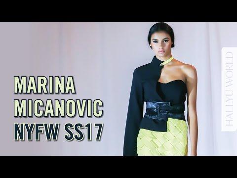 NYFW SS17: Marina Micanovic's Structured Style 紐約時裝週2017春夏系列 (*CC 中文)