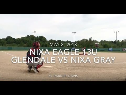 Nixa Eagles Baseball 13U Glendale vs Nixa Gray May 8, 2018 Summers At The River
